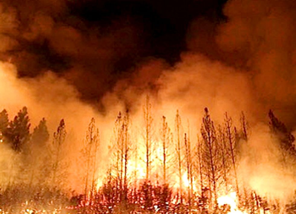 Yosemite's Massive Rim Fire Fueled by Climate Change