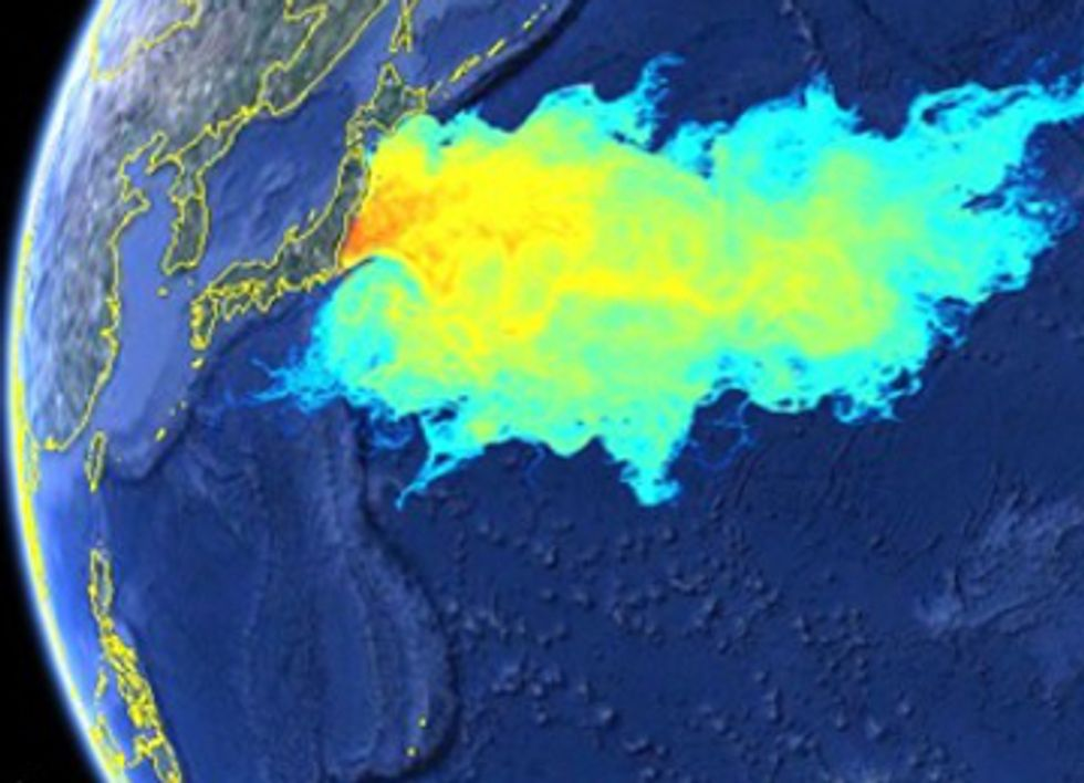 Fukushima Radioactive Plume to Hit the U.S. by 2014