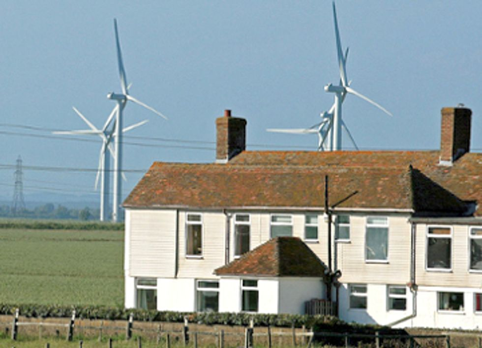 Wind Farms Don't Affect Property Values