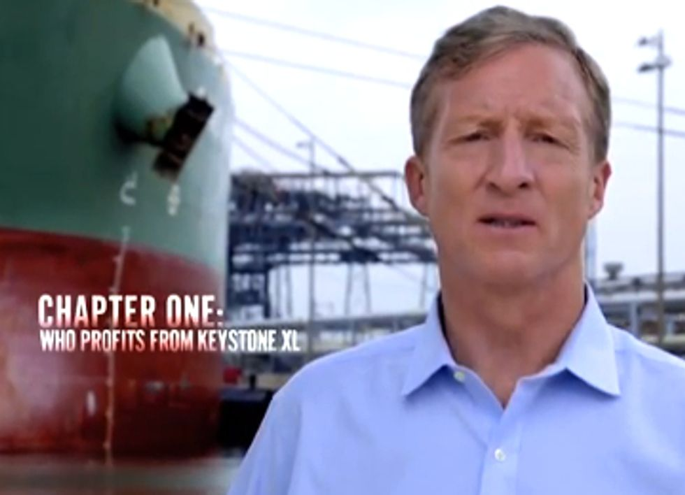 Canadian Minister Heads to DC to Lobby for Keystone XL As Steyer Launches $1M 'Bad Deal for America' Ads