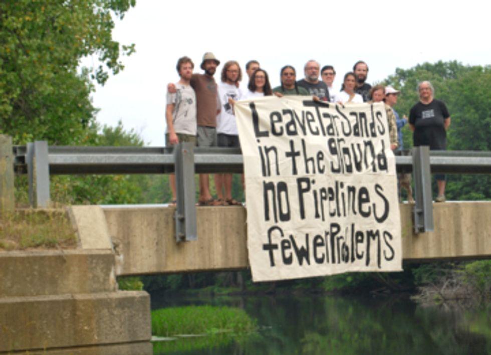 Grand River Flotilla Protests Enbridge Tar Sands Spill and Pipeline Expansion