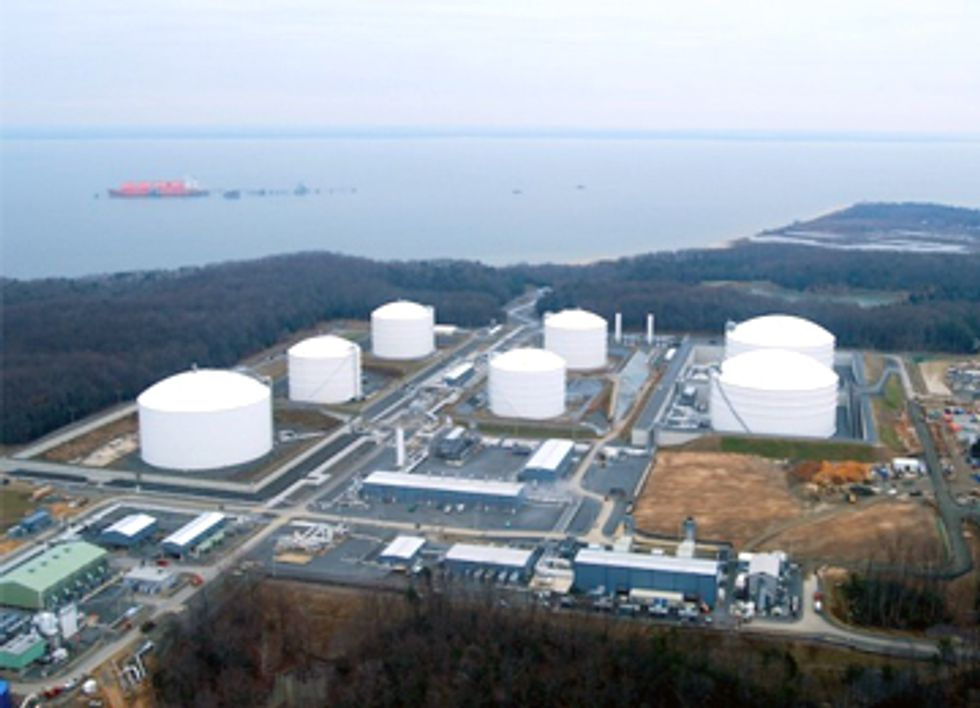 DOE Approves LNG Exports from Dominion Cove Point to Non-FTA Countries