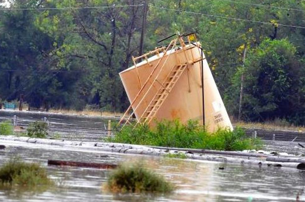 Fracking and Colorado Flooding Don't Mix