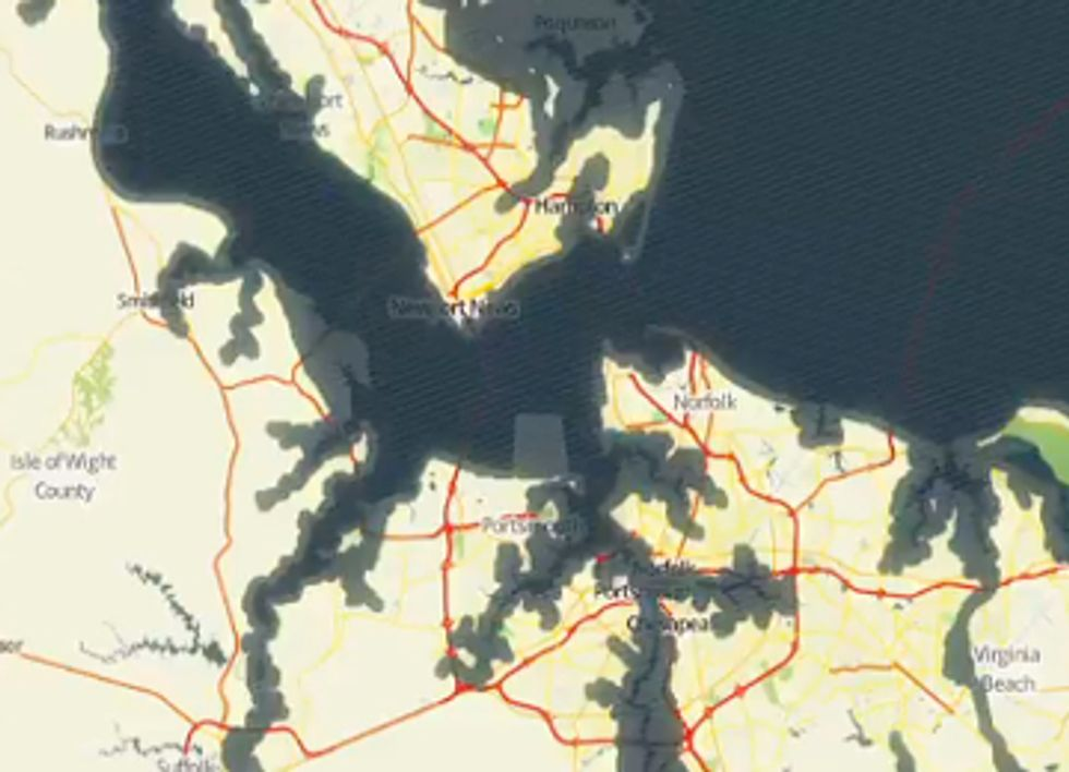 A Real-Time Look at Sea Level Rise Caused by Climate Change