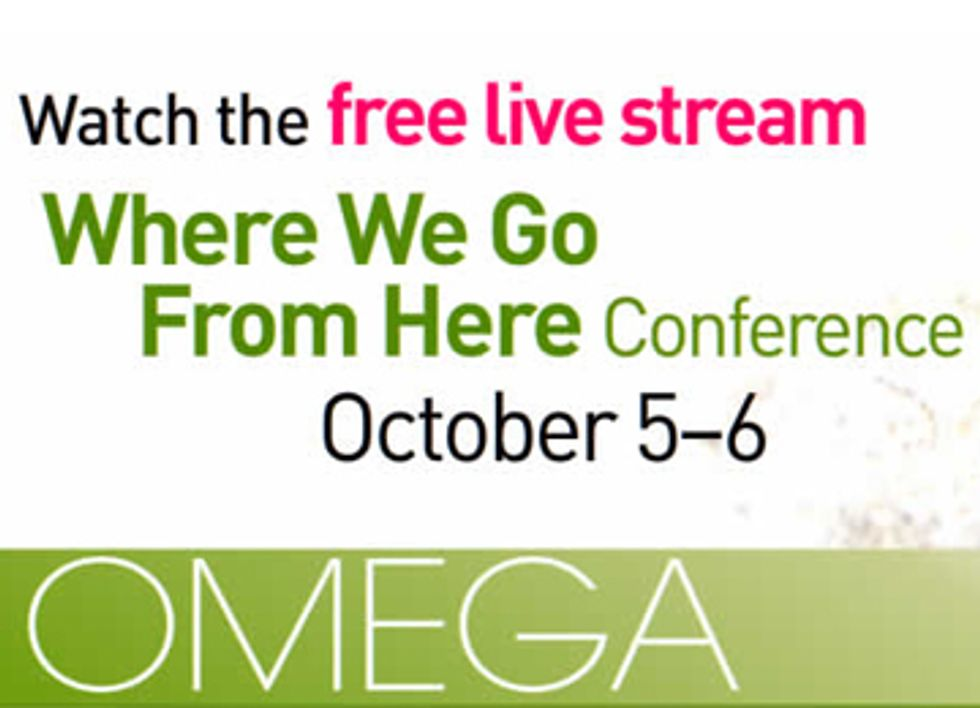 Free Live Stream This Weekend From Omega Sustainability Conference Featuring Renowned Speakers