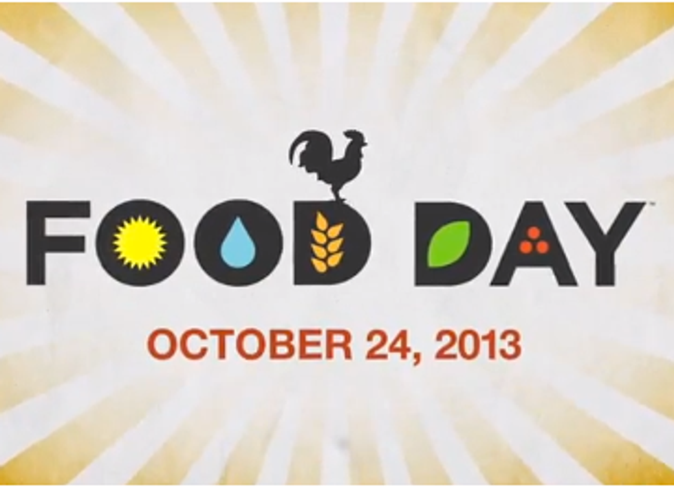 Food Day Celebrates Healthy Eating and Sustainable Farming