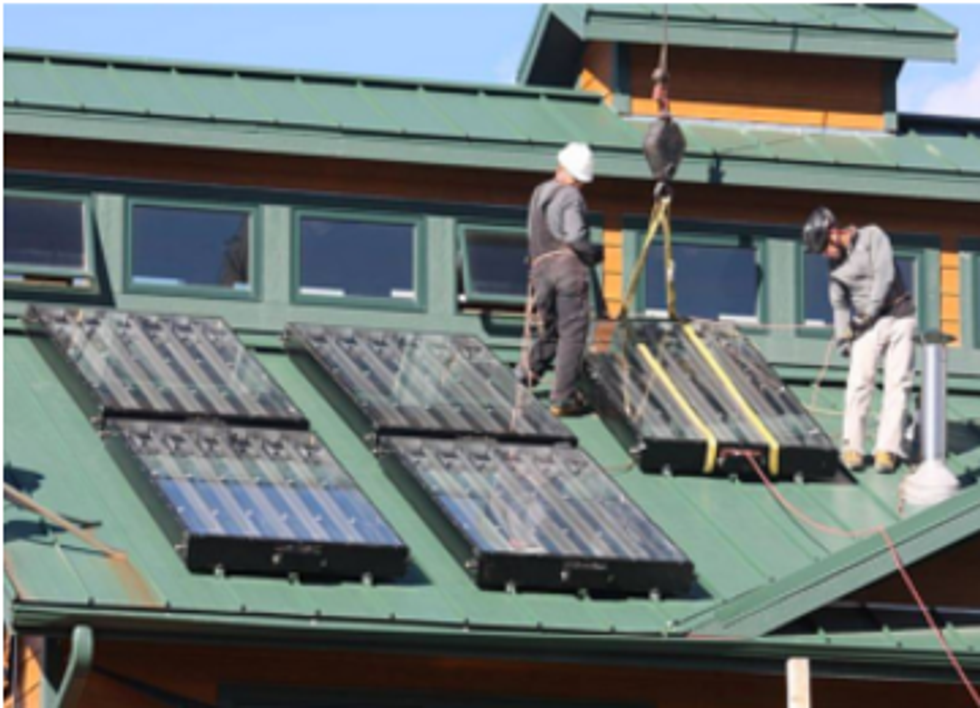 Solar Heating and Cooling Could Save $61B, Create 50,250 Jobs By 2050
