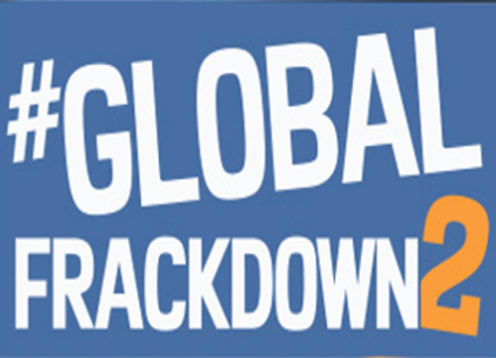 Global Frackdown 2 Calls for a Worldwide Ban on Hydraulic Fracturing