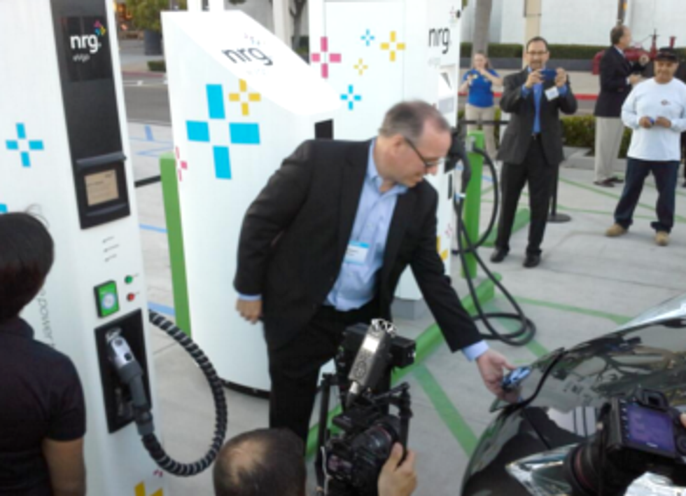 NRG Complying With Settlement, Opens Second EV Charging Station