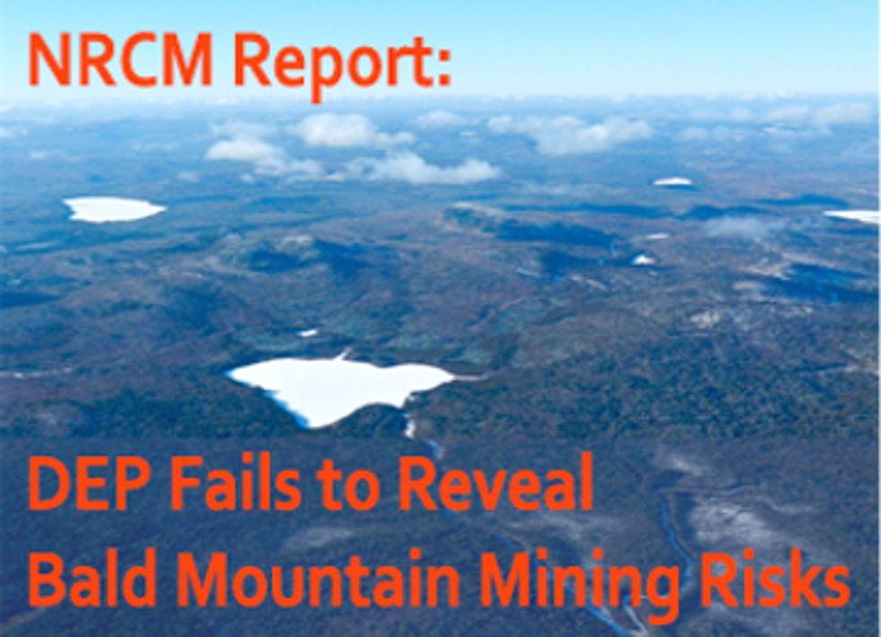 Industry Pushes to Weaken Maine's Mining Regulations