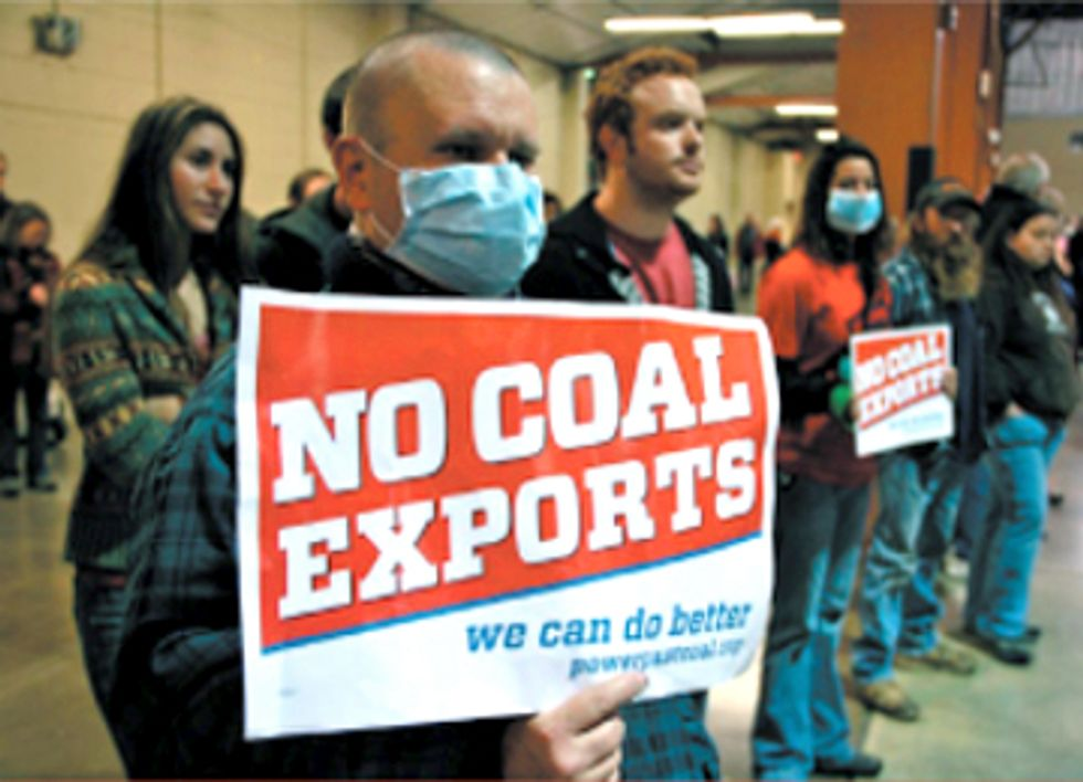 Coal Export Terminal Draws Resounding 'No' at Washington Hearing