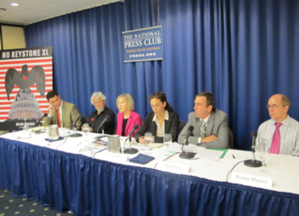 Canadian Scientists Expose Their Government's Tar Sands Obsession at DC Briefing