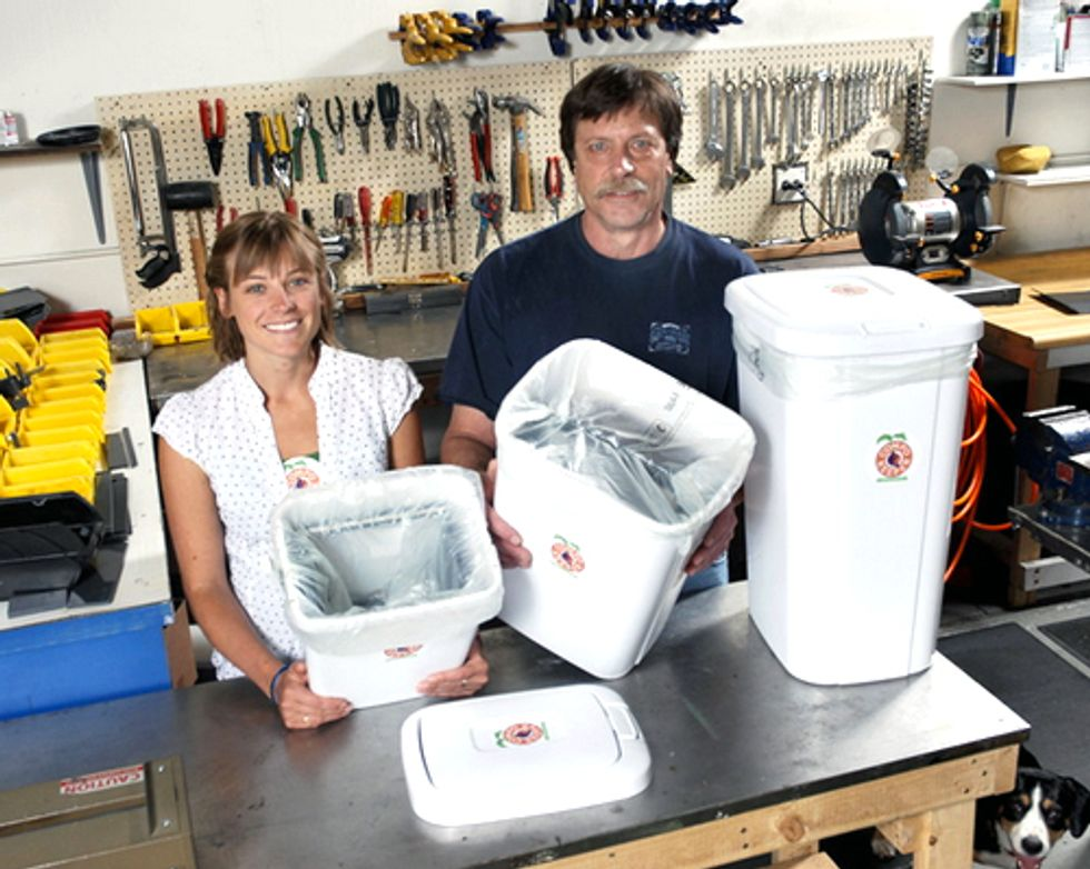 Father-Daughter Team Develops Kitchen Composter to Reduce Food Waste