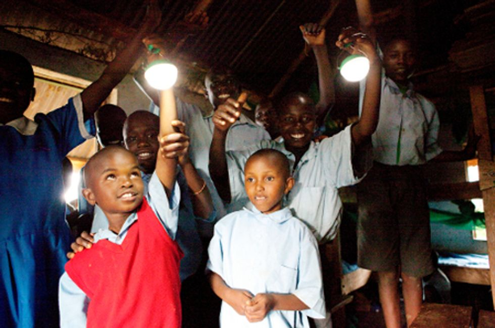 'World's Most Affordable' Solar Light