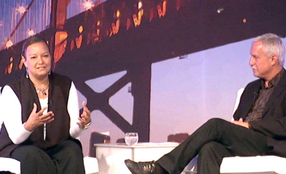 Apple's Lisa Jackson Discusses Company's Quest for 100 Percent Renewable Energy