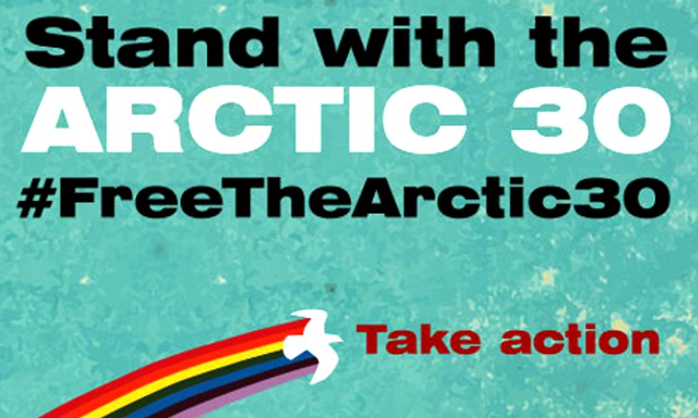 Hundreds of Protests in 36 Countries Demand Release of Arctic 30