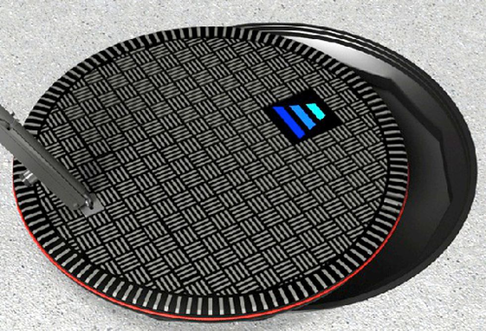 New York Firm Designs EV Chargers Disguised as Manholes