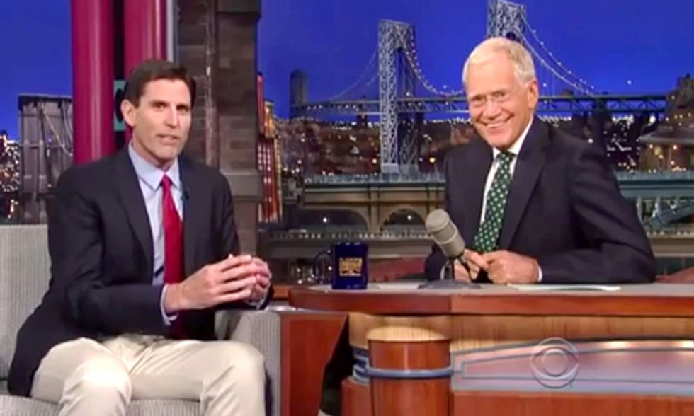 Stanford Professor on Letterman: Powering Entire World on Renewable Energy No Problem