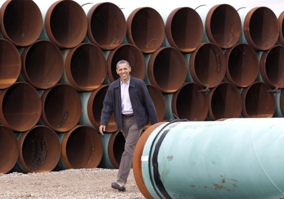 Bill McKibben: Will President Obama Stand Up to Big Oil and Reject Keystone XL?