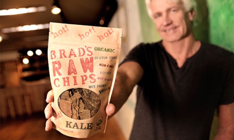 Brad's Raw Foods Founder Shares How His Kale Chips Landed on 7,000 Store Shelves