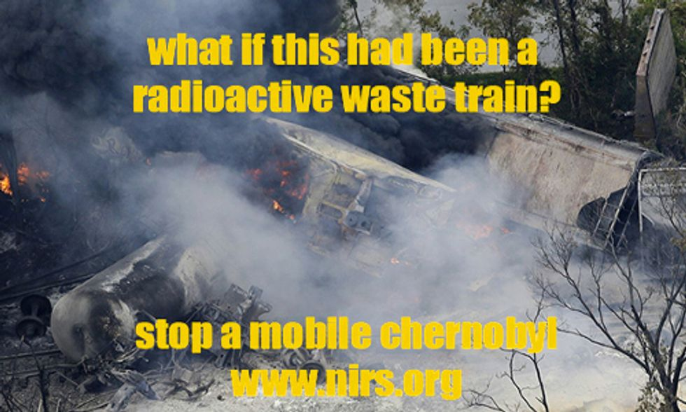 Group Petitions Senate to Prevent Mass Transportation of Nuclear High-Level Radioactive Waste