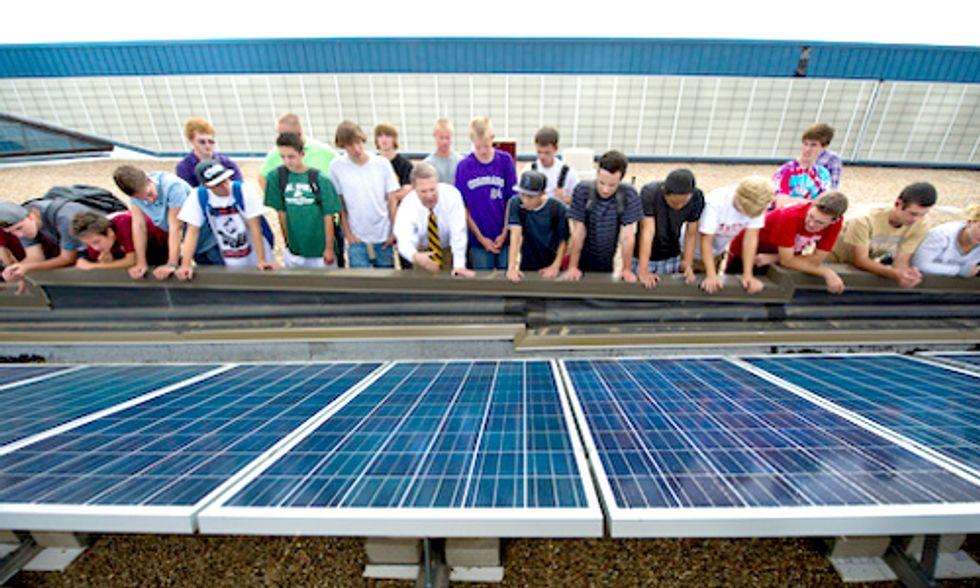 Crowdfunding Campaign Helps Schools Go Solar