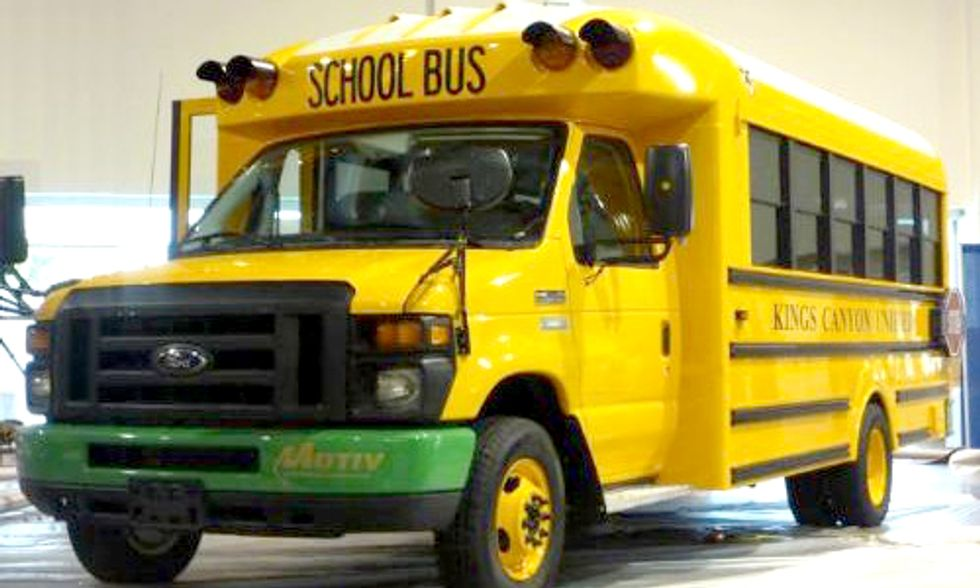 America's First All-Electric School Bus Coming to California