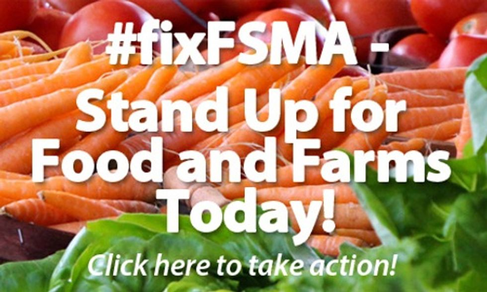 Stand Up for Local Food and Farms