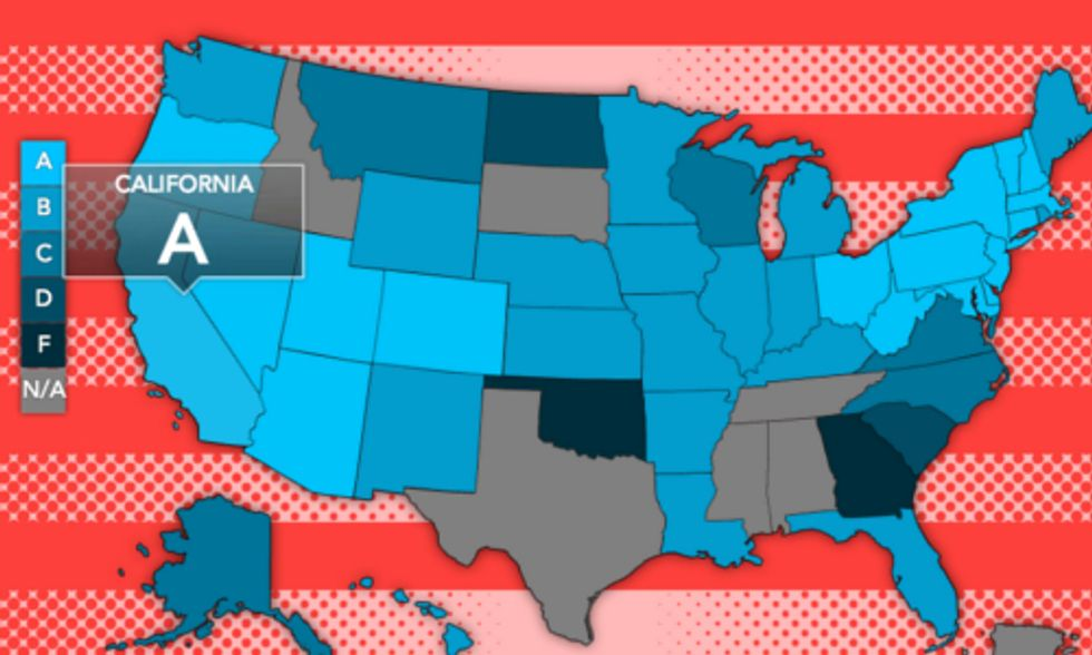 What Is Your State's Renewable Energy Grade?