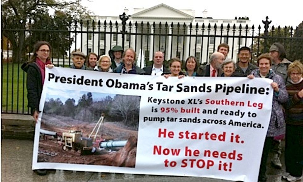 Petition to Stop Southern Leg of Keystone XL Pipeline Delivered to White House