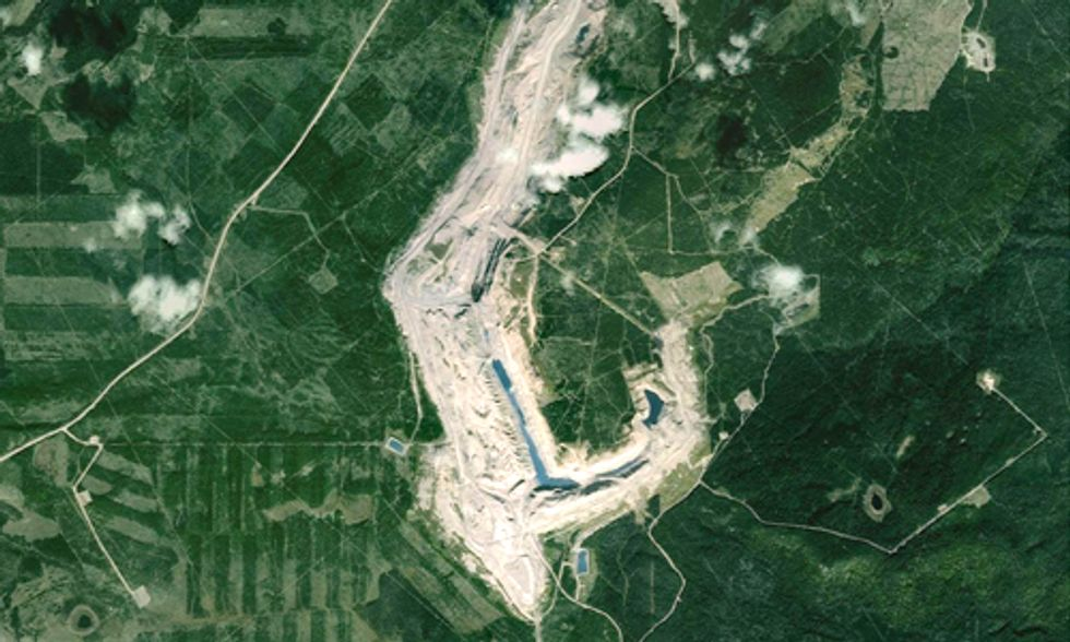 Did Canada Just Have the Largest Coal Slurry Spill in Its History?