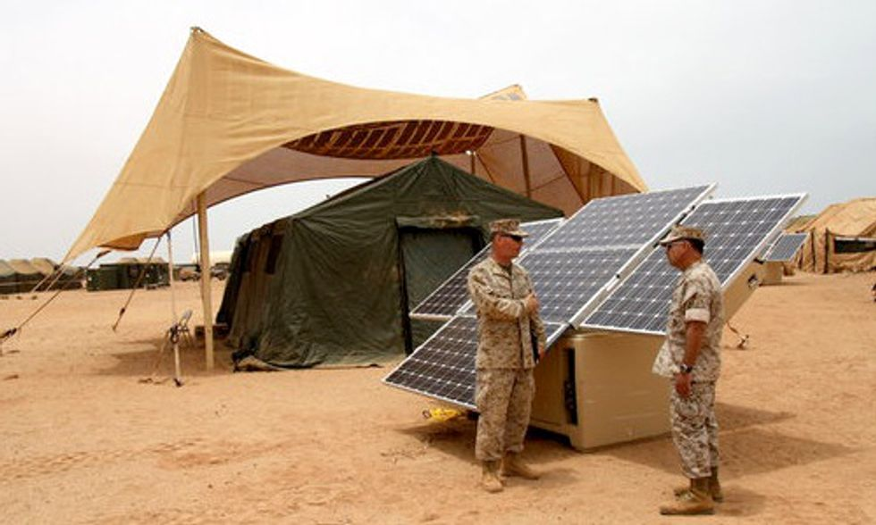 7 Energy Facts About U.S. Defense on Veteran's Day