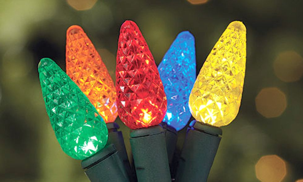 Trade In Old, Inefficient Holiday Lighting for Money Saving LEDs