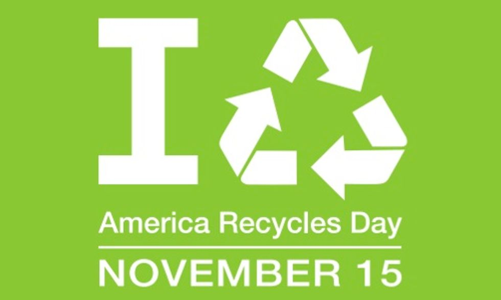 America Recycles Day Challenges You to Reduce Your Daily Trash