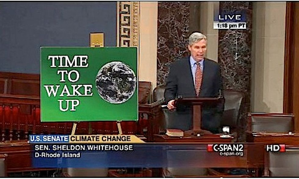 U.S. Senator Delivers 50 Speeches in 50 Weeks Calling for Action on Climate Change