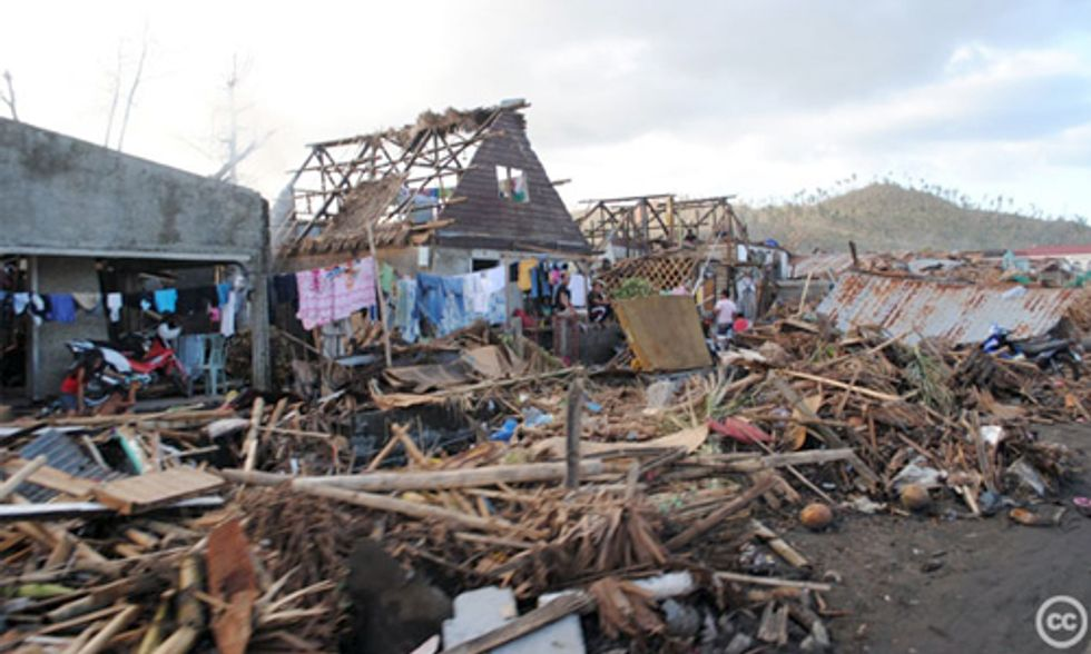 Super Typhoon Haiyan: Realities of a Warmed World and Need for Immediate Climate Action