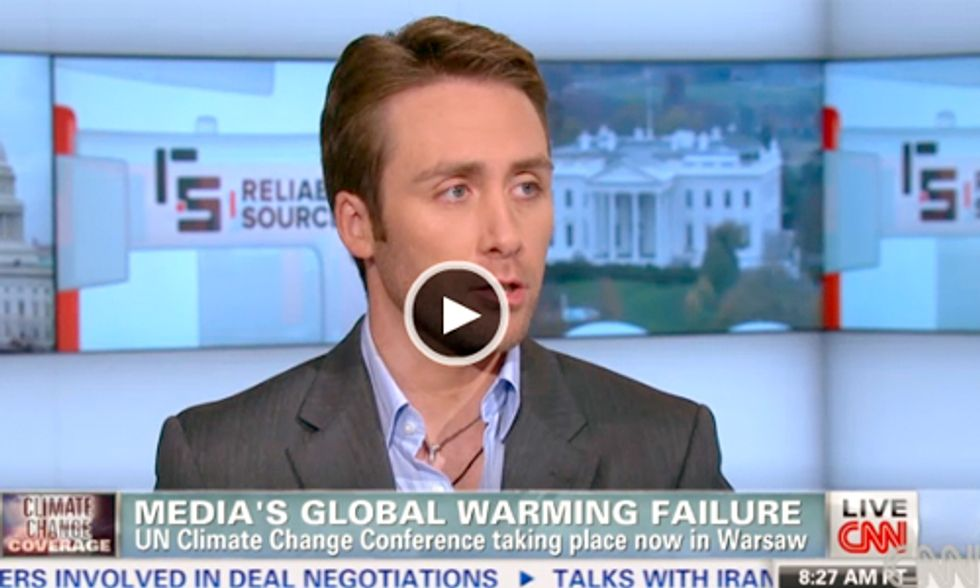 Philippe Cousteau and Andrew Revkin Discuss Media's Lack of Climate Change Coverage
