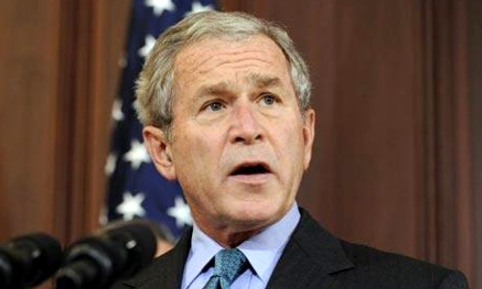 Butchering Keystone XL Facts, George W. Bush Says 'Build the Damn Thing'
