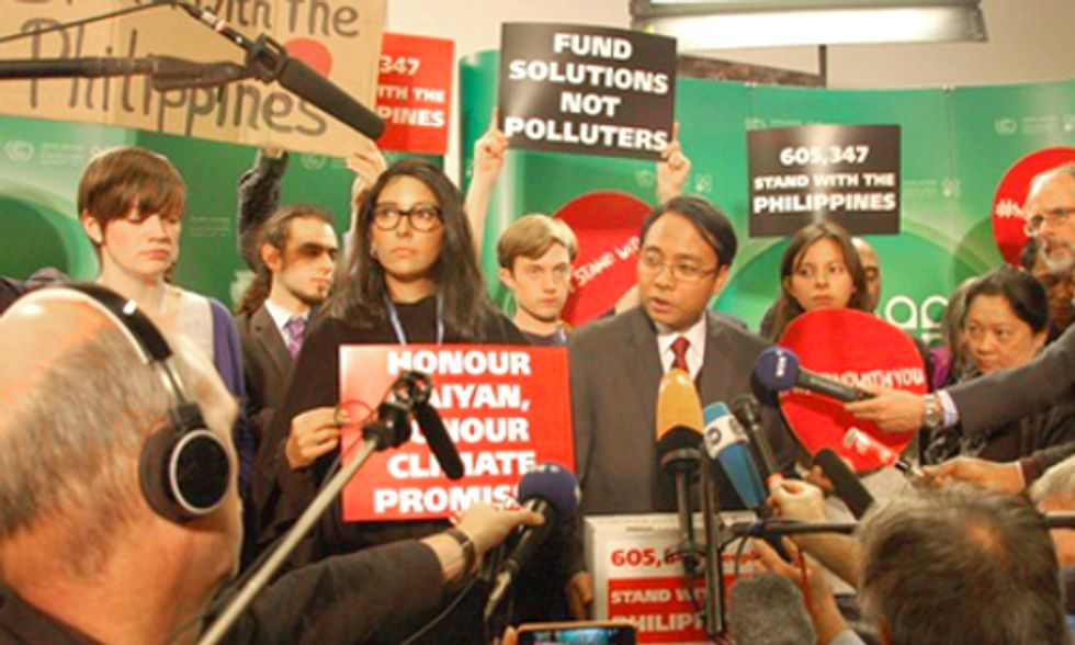 600,000+ Join Yeb Sano Signing #WeStandWithYou Petition Urging Action at UN Climate Talks