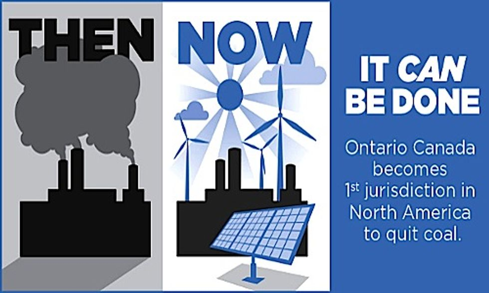 North American First: Ontario Bans Coal-Fired Power