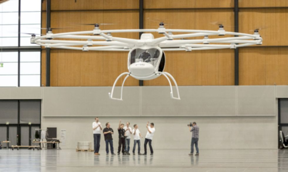 World's First Electric Helicopter Takes Flight
