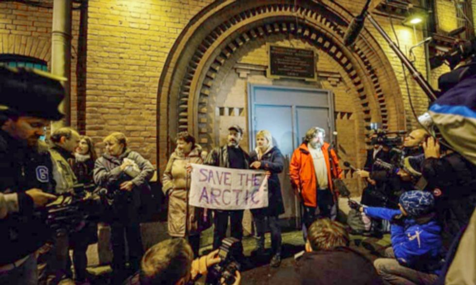 Fighting for Climate Justice: 29 of the Arctic 30 Released From Russian Jail