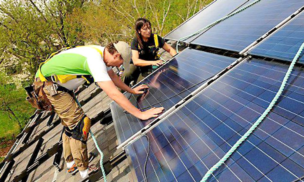 Solar Growth Explodes In October