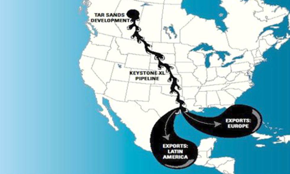 New Keystone XL Report Calls Pipeline A Mirage for Tar Sands Investors