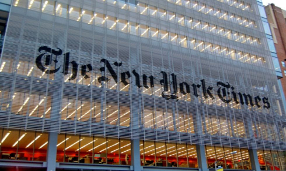 NY Times' Climate Coverage Suffers After Dissolving Environmental Team and Green Blog
