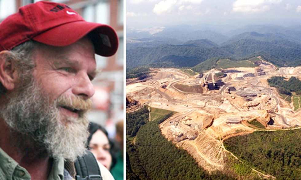 Free Mike Roselle From Jail ... Free Appalachia From Mountaintop Removal