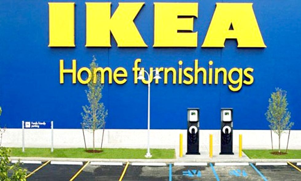 IKEA Paves the Way by Opening 10th EV Charging Station