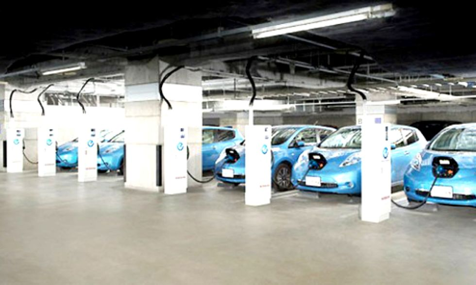 Can Electric Cars Power Buildings? One Automaker Says Yes