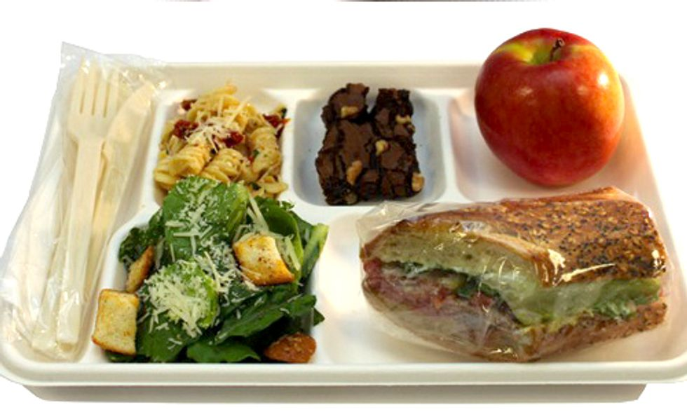Schools Ditch Styrofoam Lunch Trays for Compostable Plates