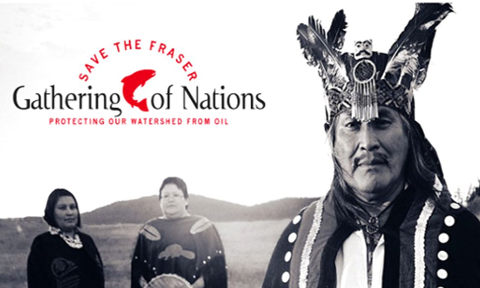 First Nations and Allies Stand Strong in Fight Against Enbridge Tar Sands Pipeline
